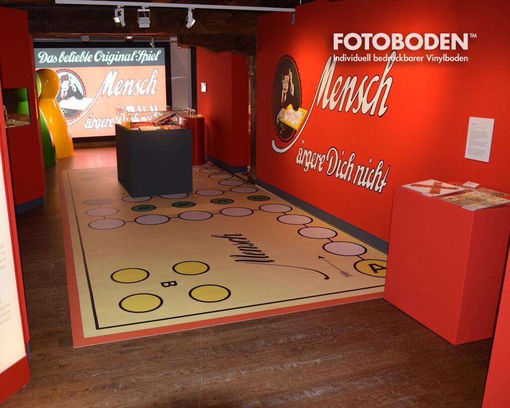 Spielboden Museumsboden Bodenbeläge Vinyl