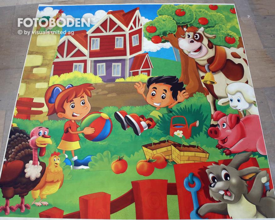 Spieleboden FOTOBODEN™ Flooring Fußboden