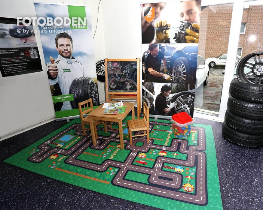 Spielecke FOTOBODEN™ Flooring Fußboden Bodengestaltung