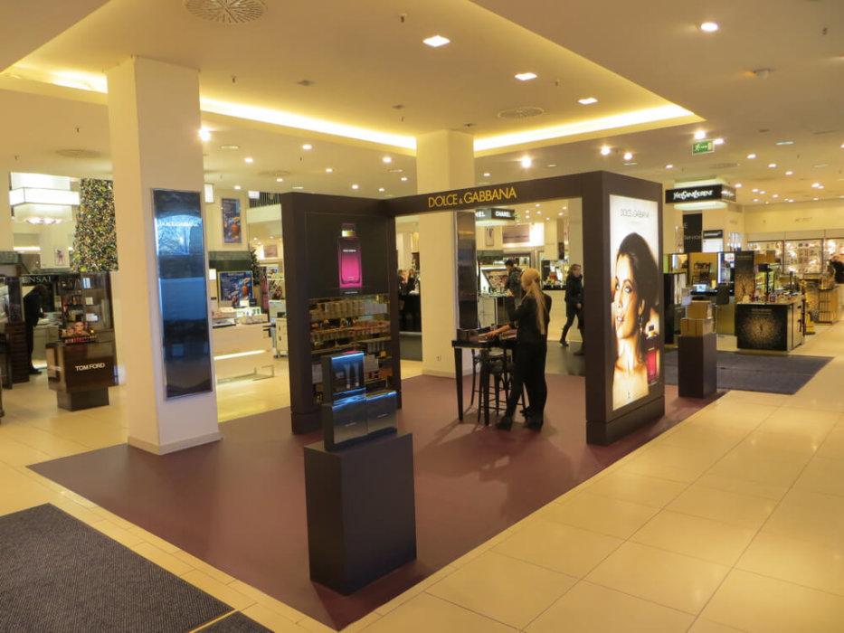 Ladengestaltung Fußboden