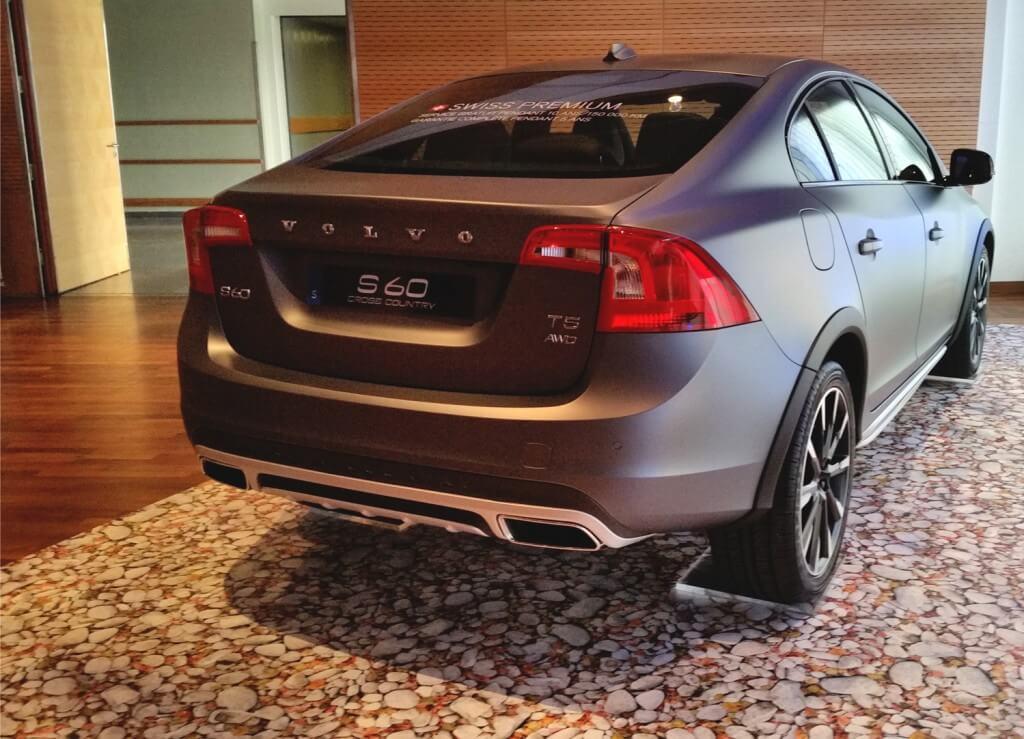 Volvo-Autopräsentation Mit FOTOBODEN™