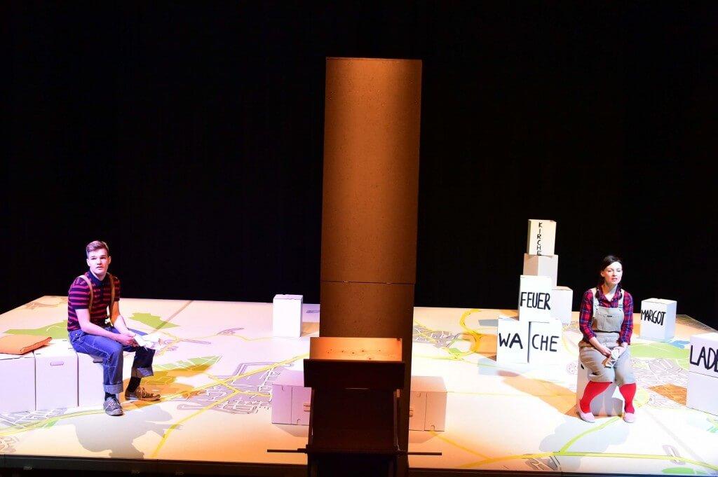 Bühnenboden Bedruckt