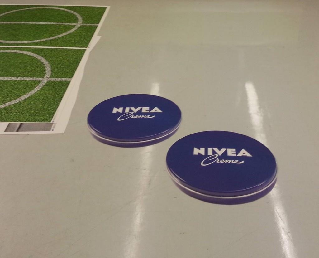 3D Fußmatte Teppich mit Logo Bodendisplay