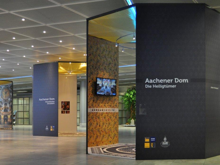 Aachener Dom Ausstellung Museumsboden