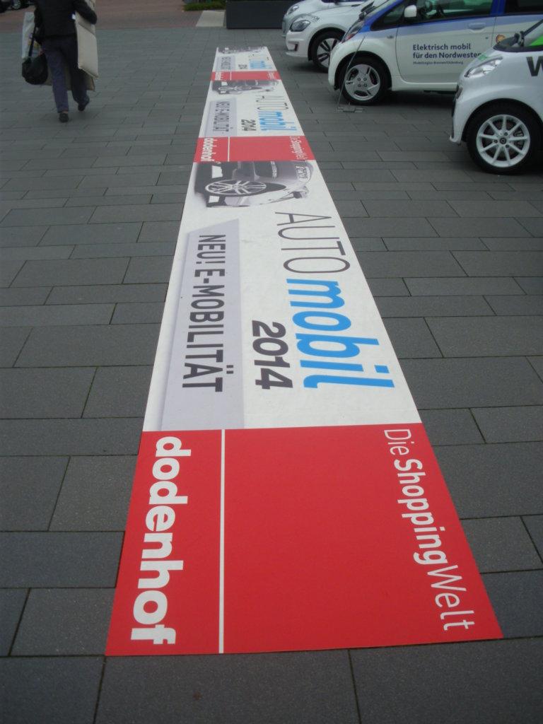 Bodenbanner PVC floorgrafic