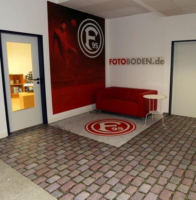 Fortuna Ecke PVC Fotoboden Vinyl
