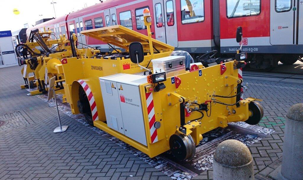 Interrail Schienen PVC Boden
