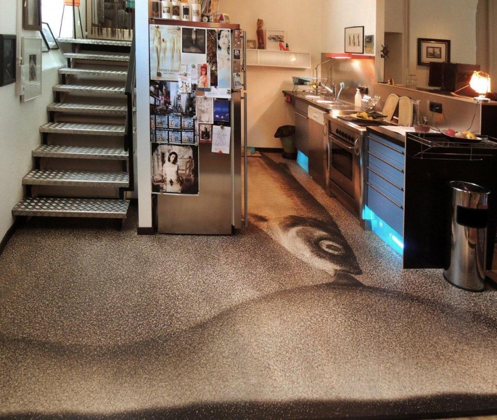 Küchenboden Matten: Künstler