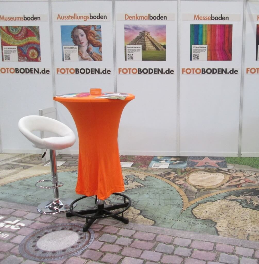 FOTOBODEN™ Motivboden Ausstellungsboden