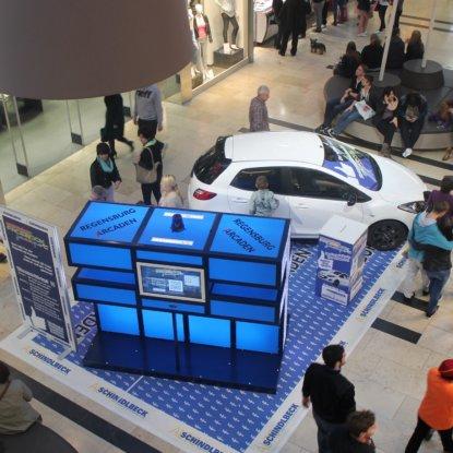 Sonderfläche Auto Ausstellungsdesign Einkaufszentrum
