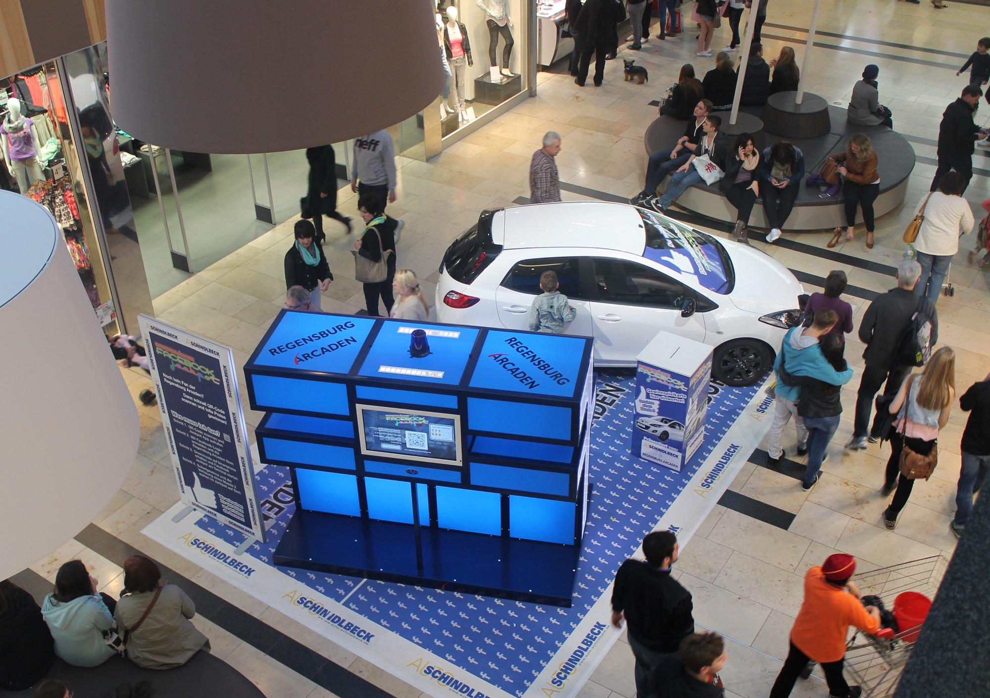 Promotionfläche Im Einkaufszentrum