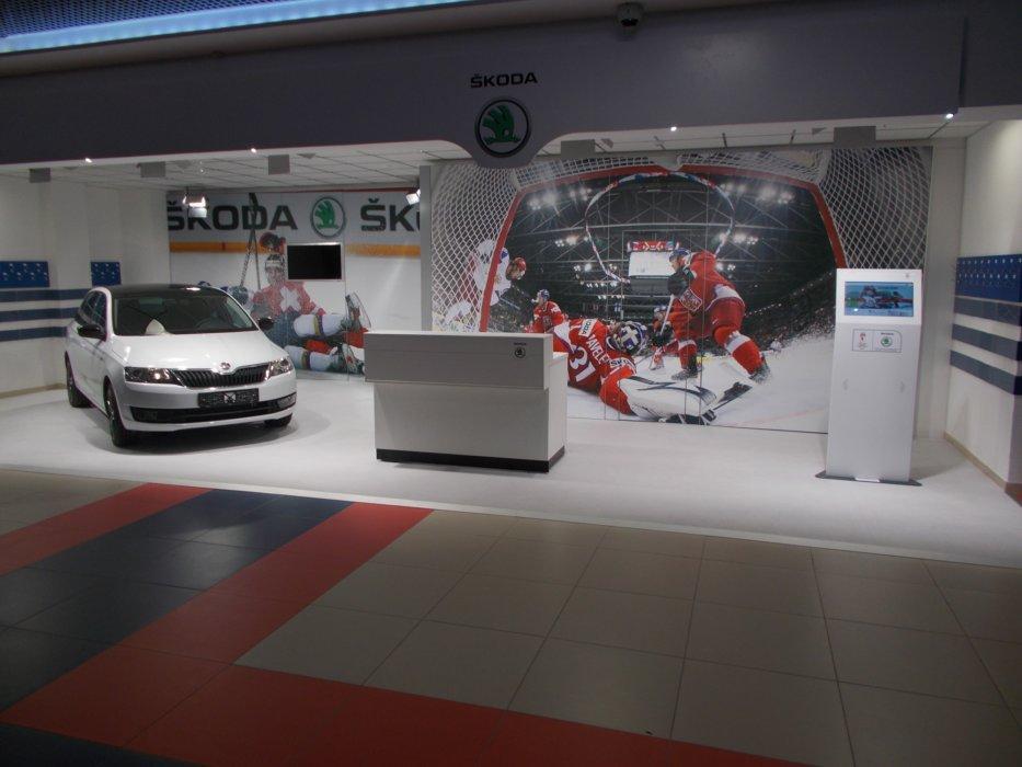 Vinyl Schnee Und Eis Autoausstellung