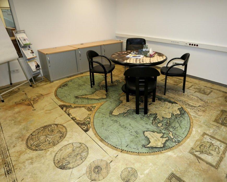 Showroom Boden Bedrucken