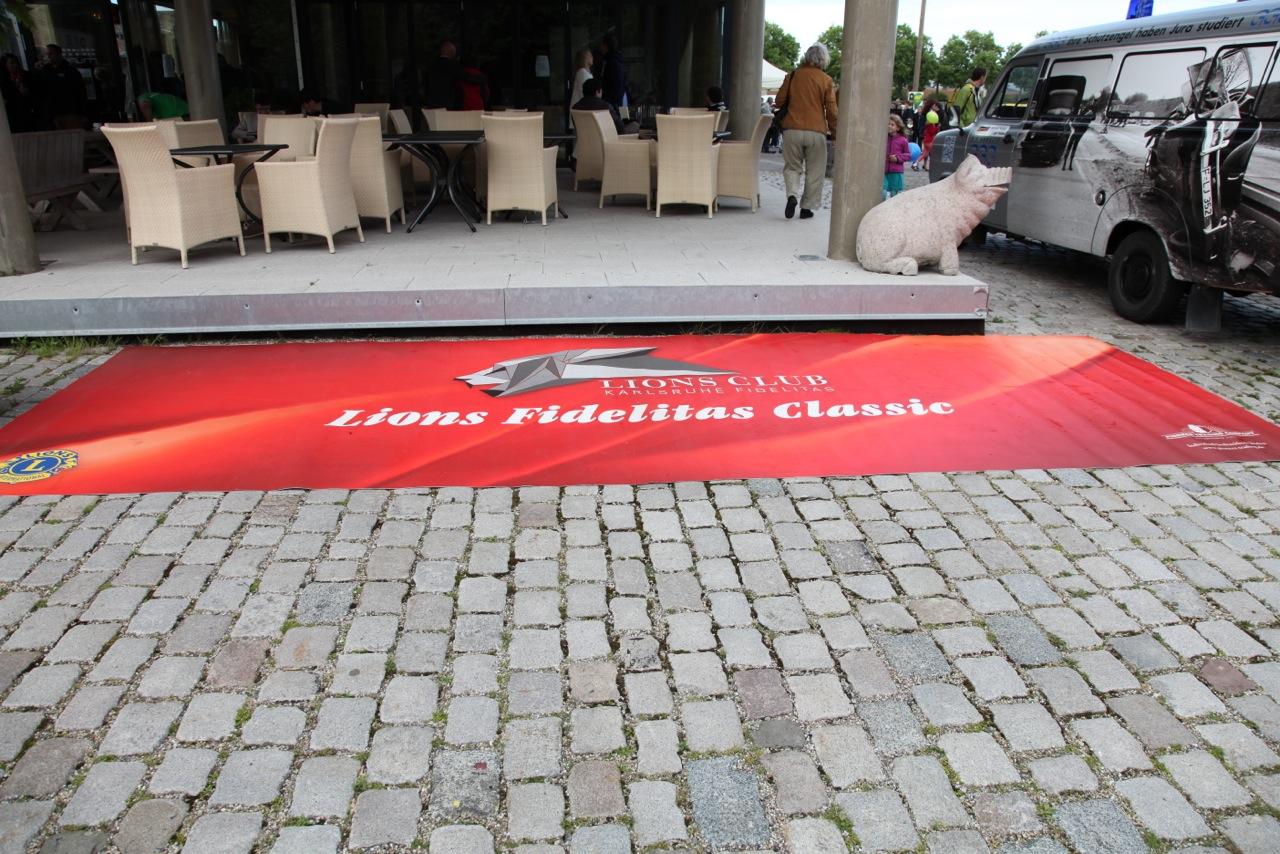 VIP Lounge Bodengrafik Eventteppich