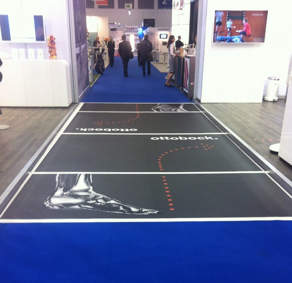 XXL Mega Floorminder Messeboden