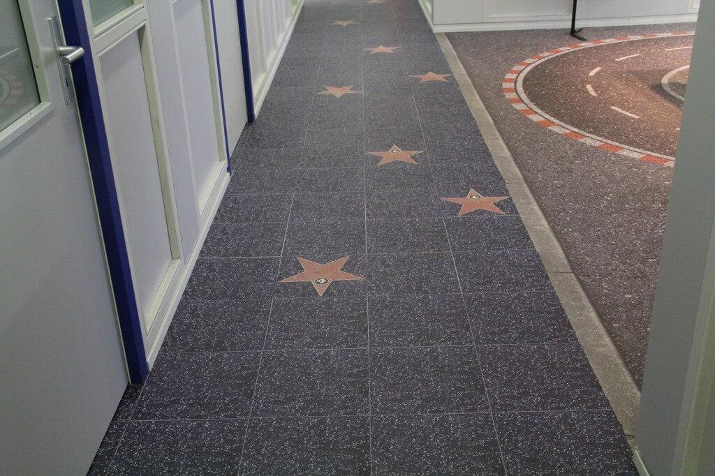 Designfußboden selbst gestalten PVC