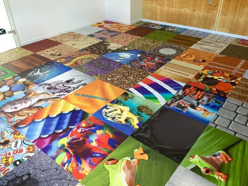 FOTOBODEN™ Im Mosaikdesign