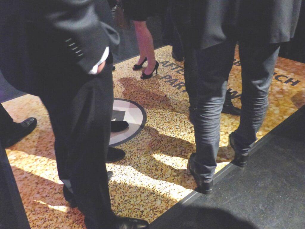 Fallschutzmatten Personalisierte Fußmatte