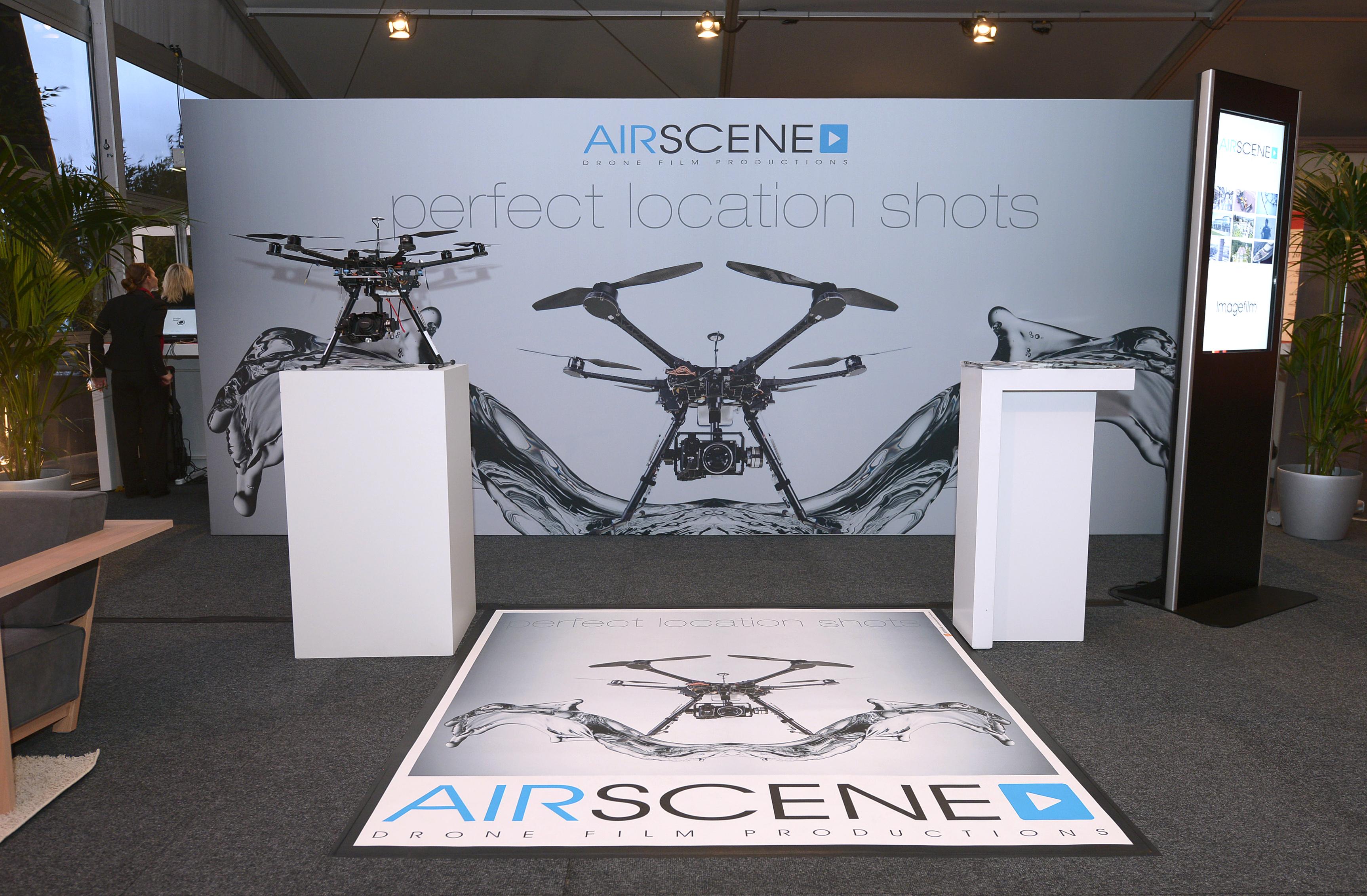 Airscene Präsentationsstand