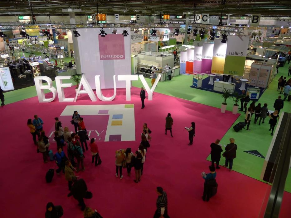 Beauty Fachmesse Düsseldorf Boden
