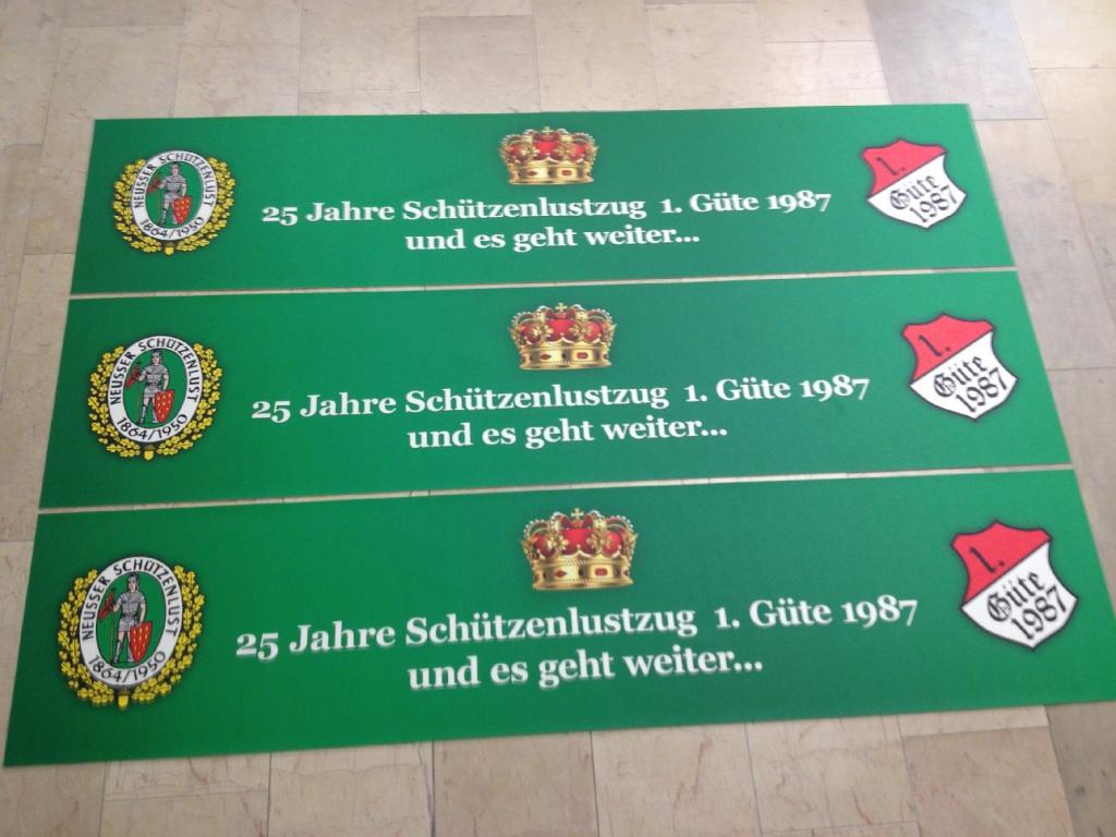 Biertischauflage Schützenfest Vinyl