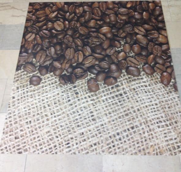 Design Bodenbeläge Vinyl Boden Kaffeebar