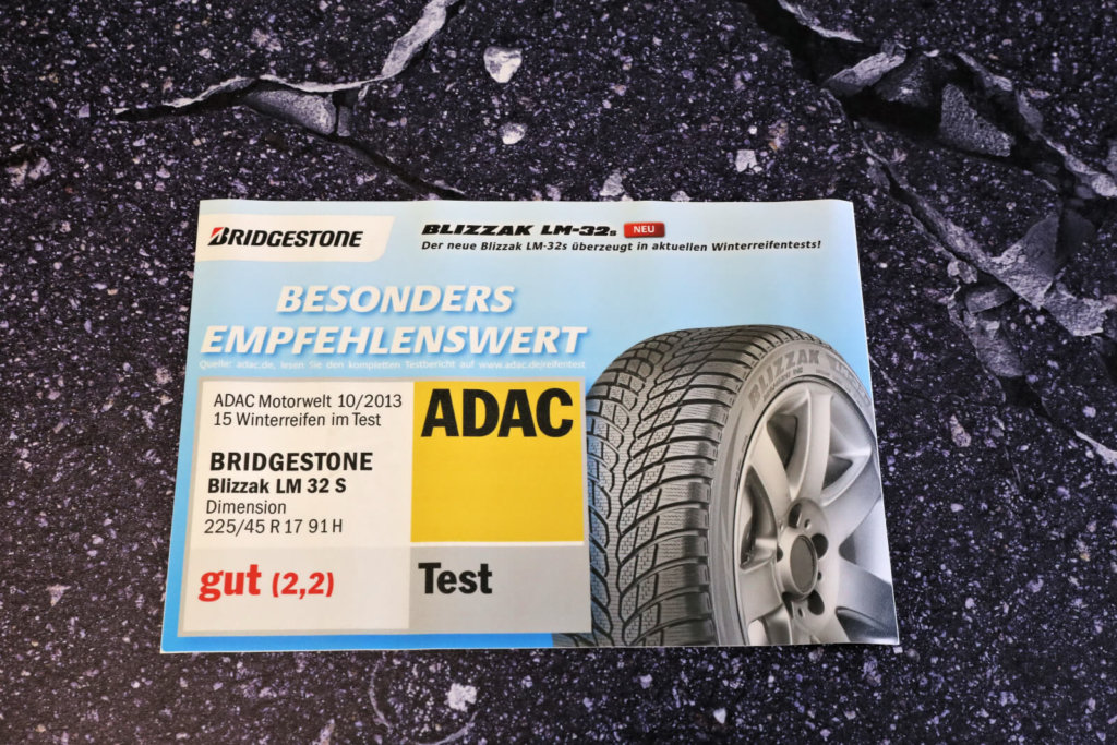 Bridgestone Werbematte PVC