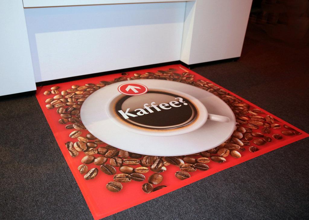 Catering Bodenmatte Kaffee Vinyl