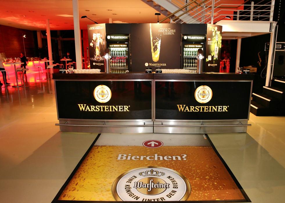 FOTOBODEN™ Warsteiner Bier