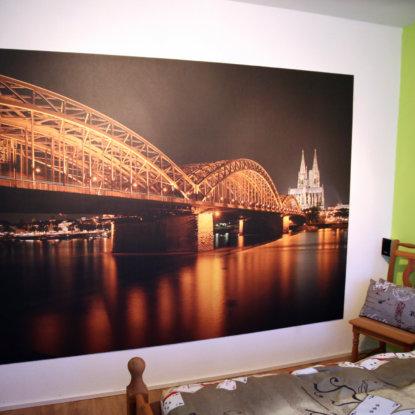 Fototapete Brücke Köln