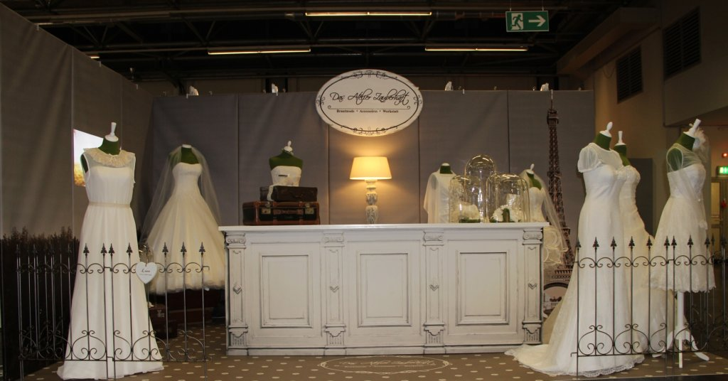Hochzeitsstand Ladengestaltung Fußboden Verkaufsfläche