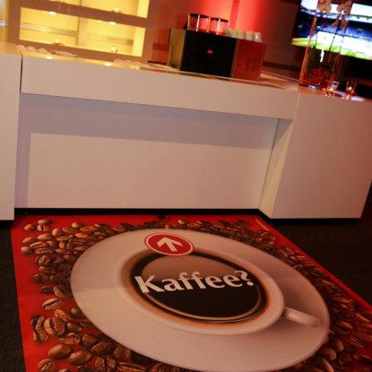 Kaffeebar Boden Vonylboden