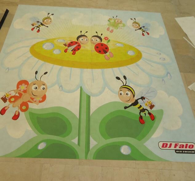 Kinderpuzzle FOTOBODEN™ Vinylboden