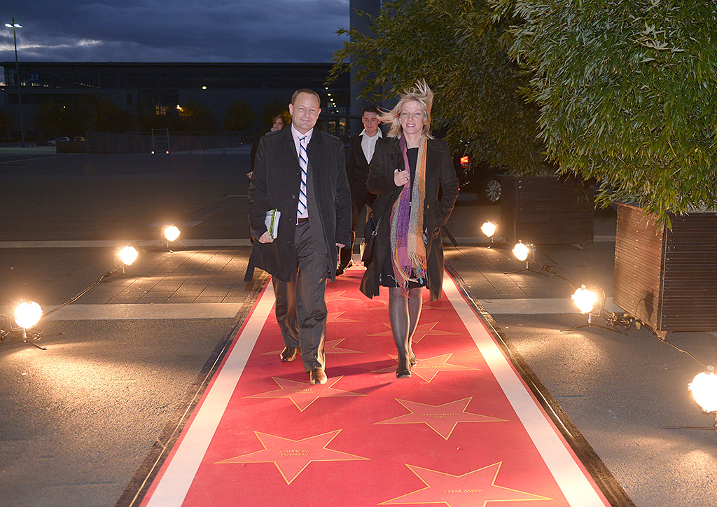 Roter Teppich WalkofFame  Fotobodende