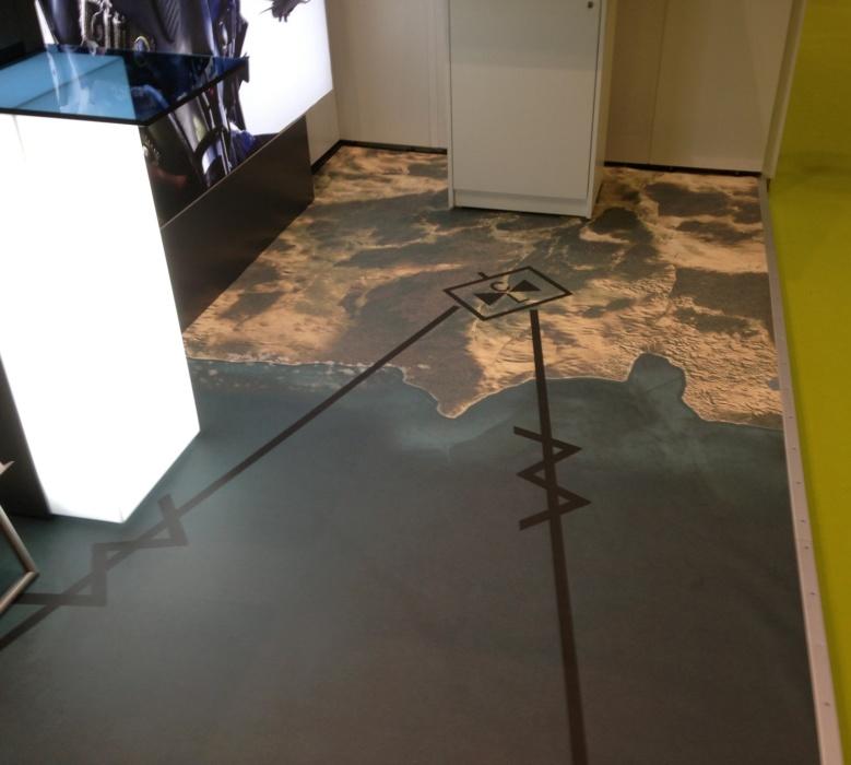 Luftbild Boden Teppich Selbst Gestalten