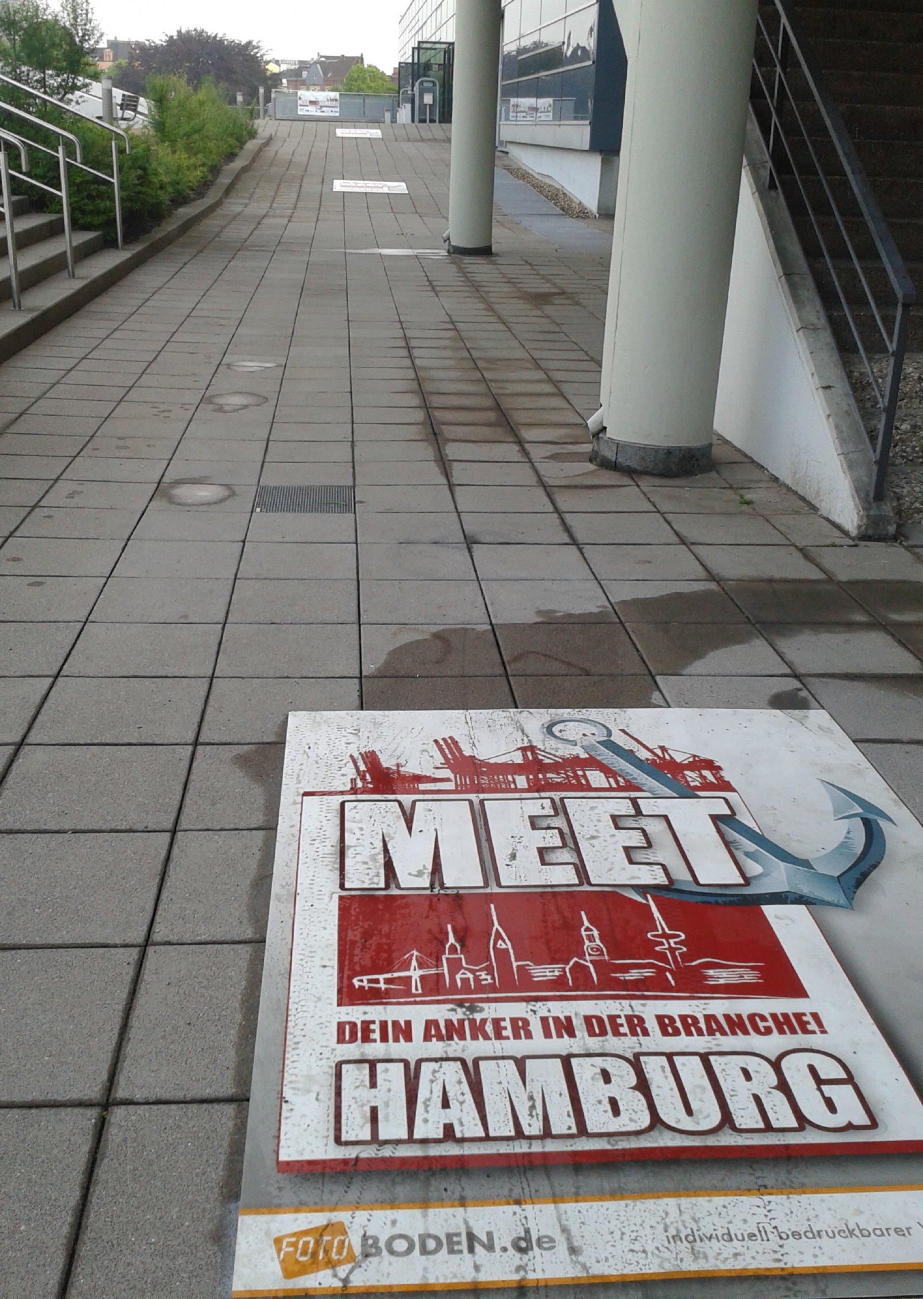 Meet Hamburg Teppich bedrucken