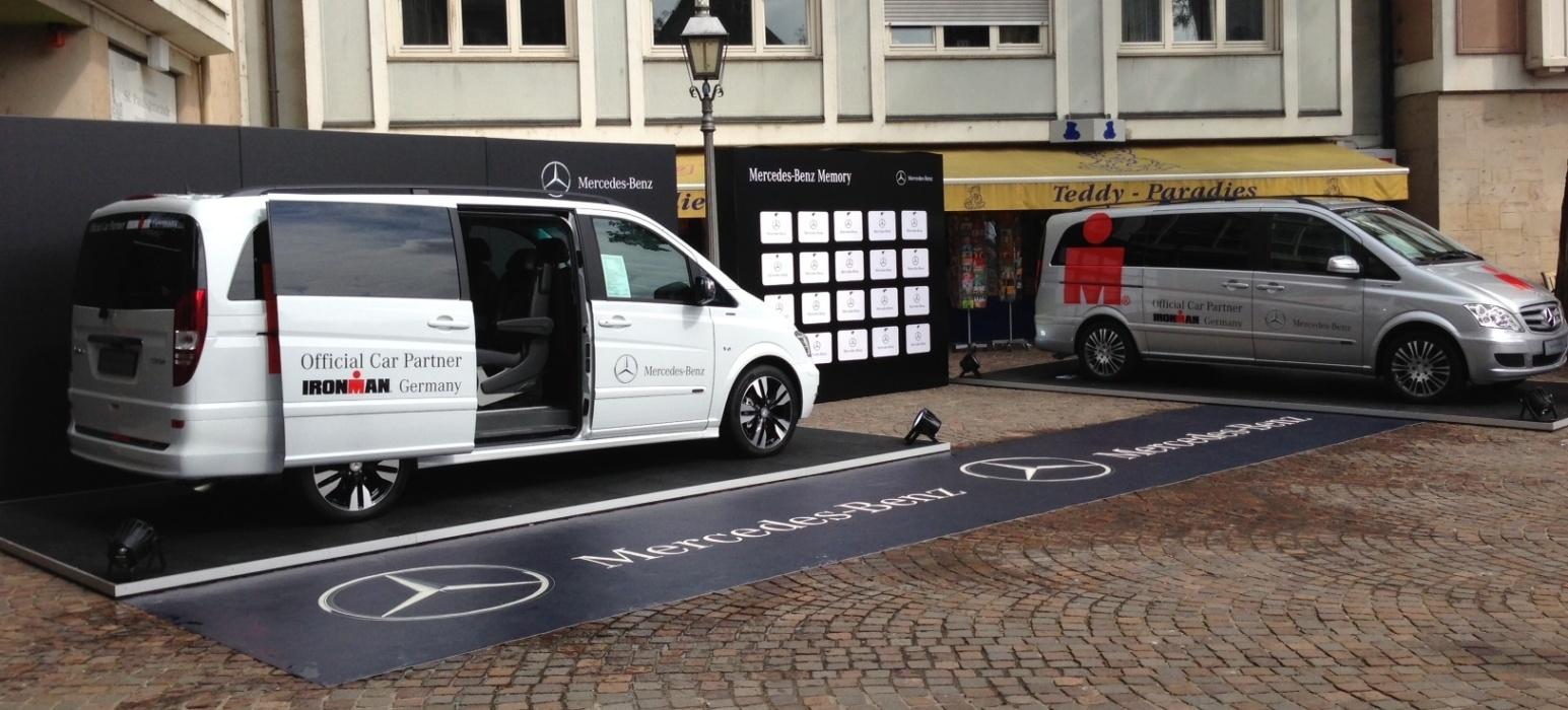 MercedesBenz Fußmatte Teppich Mit Logo