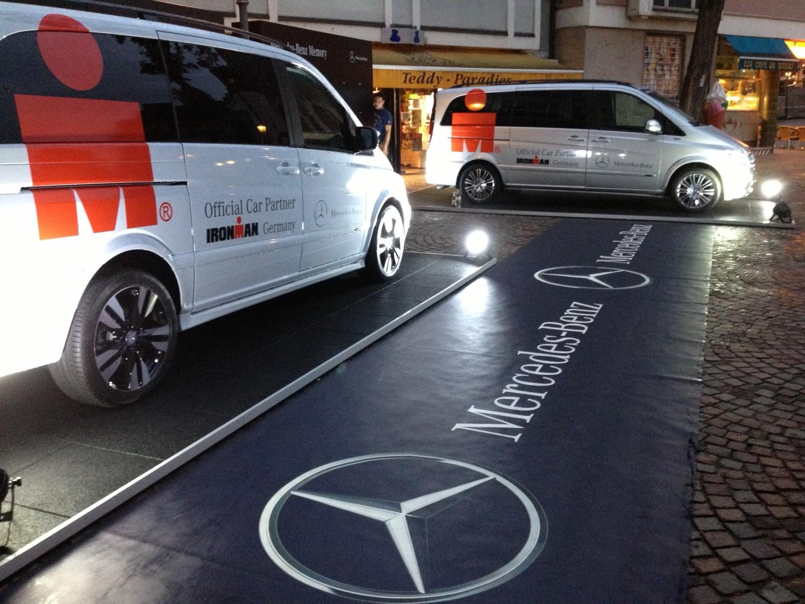 Ironman Frankfurt – Mercedes Benz Auftritt