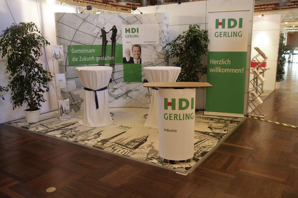 Marsh GmbH Hausmesse Messeboden Messedesign