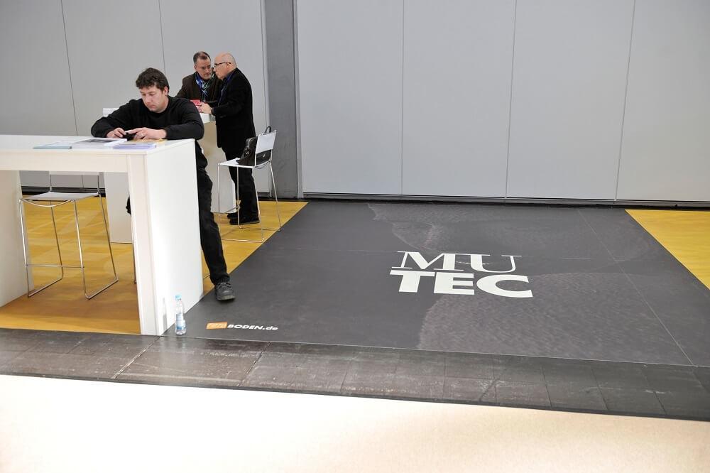 Museeumstechnikmesse Design PVC Bodenbelag Objektboden