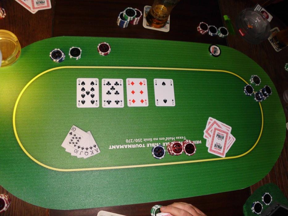 Pokermatte PVC