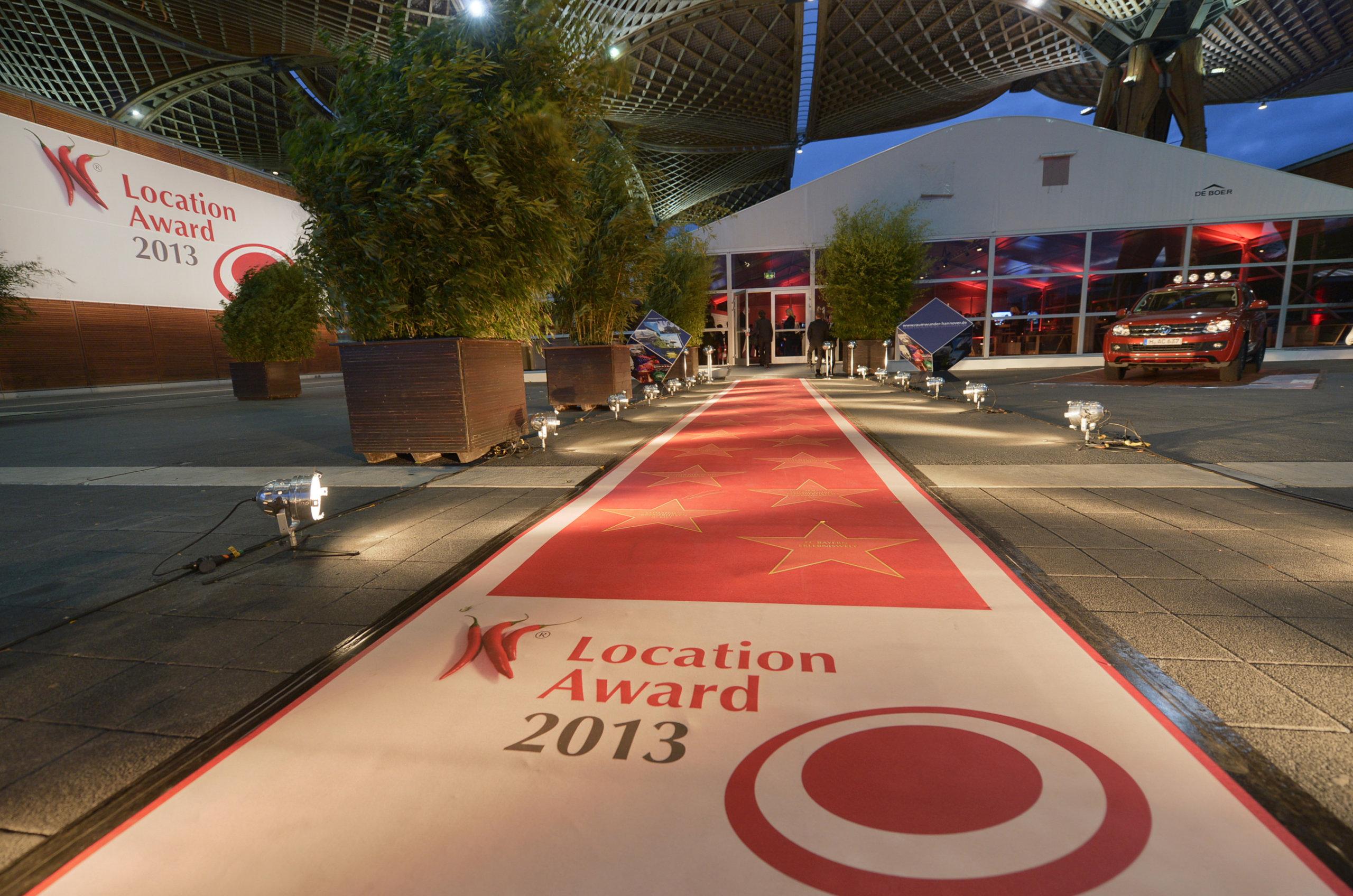 Roter Teppich für Events