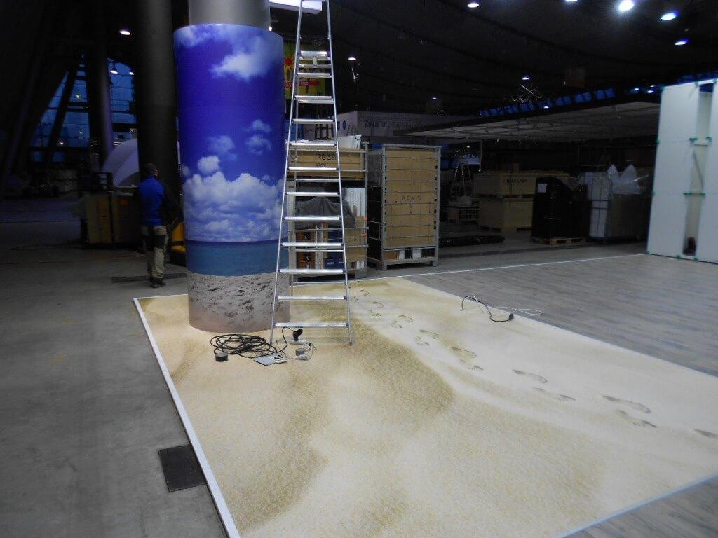 Sandboden PVC Bodenbeläge Vinyl Venylboden