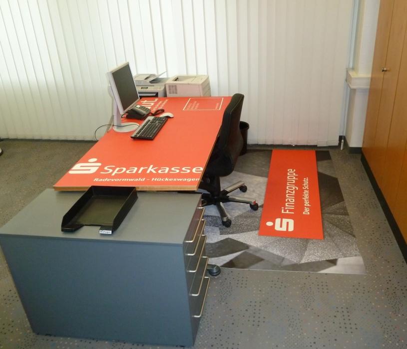 Sparkasse Schreibtischauflage