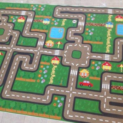 Spielboden Kinderspielplatz Fotoboden