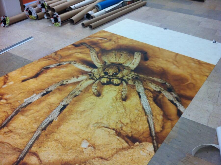 Spinnenboden Vinylboden Designbelag