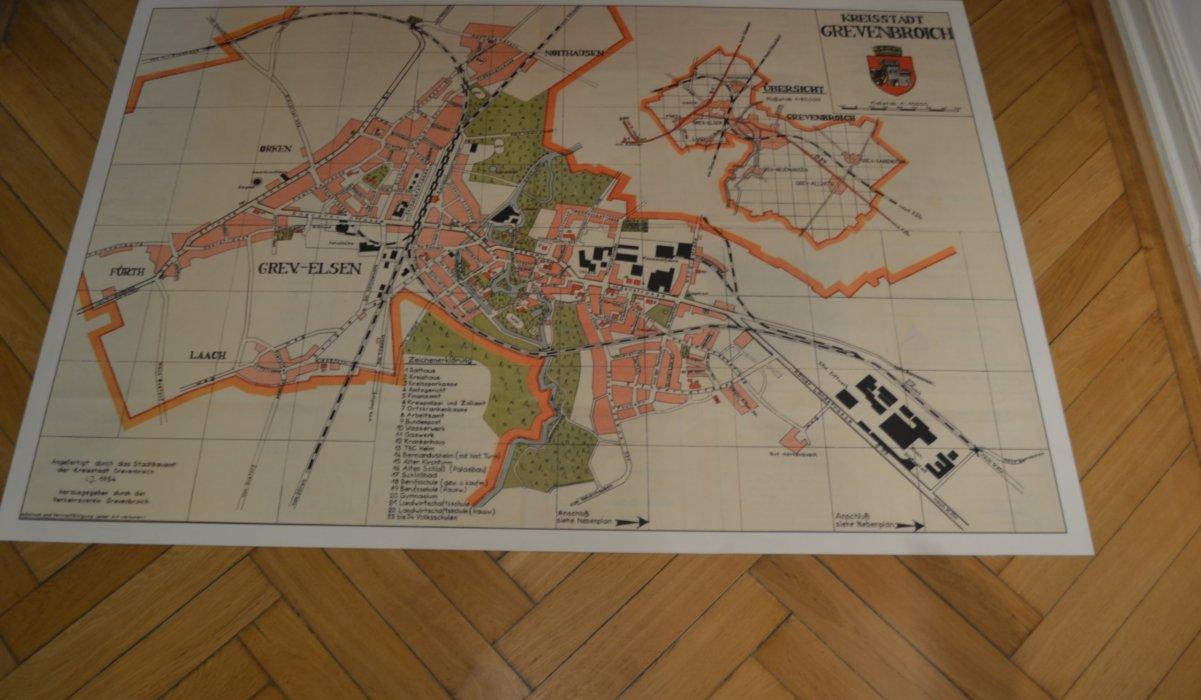 Stadtkarte