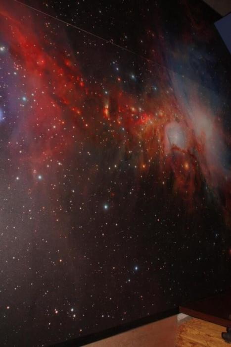 Sternenhimmel Fotoboden