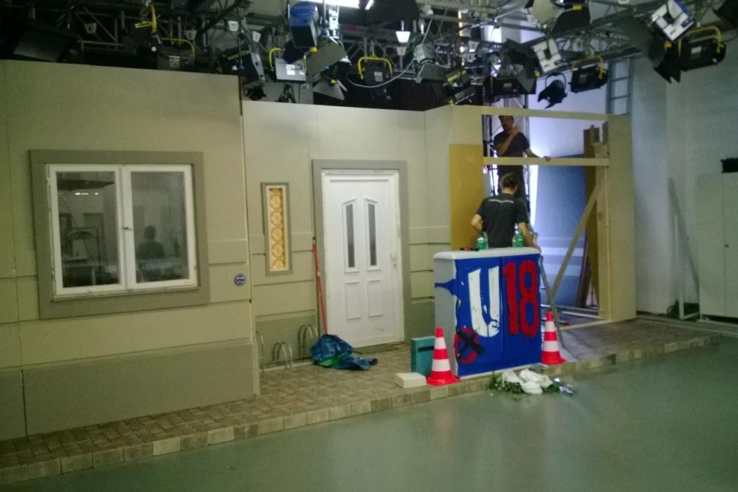 TV U Wahl Studioboden