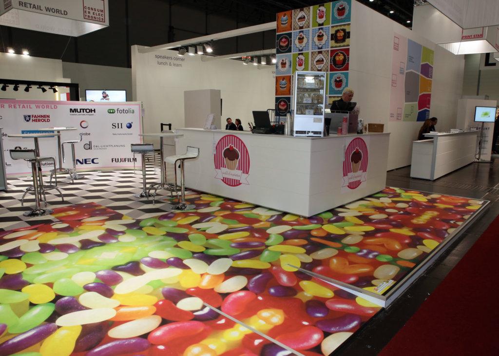 Viscom Floorgrafics Süßwaren
